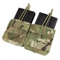 Double Open-Top M14 Mag Pouch - MultiCam