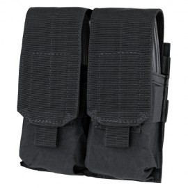 Double M4 Mag Pouch Black
