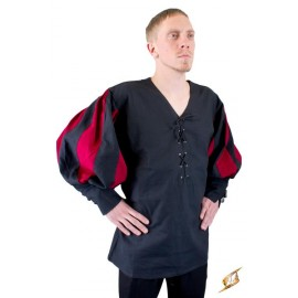 Landsknecht, dark red/black endast XL