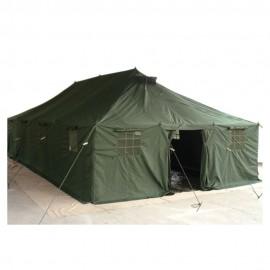 Sovplats militärtält med säng