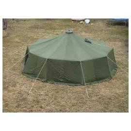 Hyra av militärtält 12 tält lagom för 8-10 personer