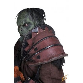 Orc Brute Shoulder Armour - Brown