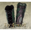 Greaves Wood Elven Black/Green Small - Large