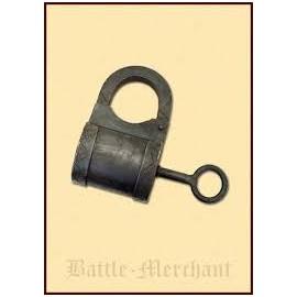 Medieval padlock, steel