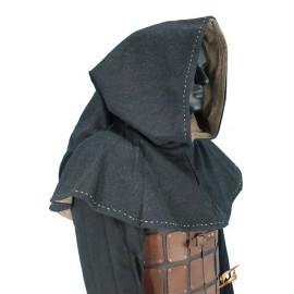Hood Medieval Grey
