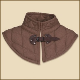 Arthur padded Collar Brown