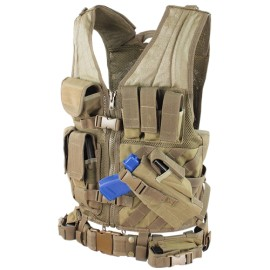 Elite Cross Draw Tactical Vest