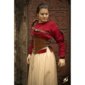 Corset Margot - Dark Red - XL/2XL