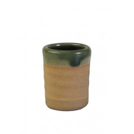 Historical Schnapps Cup from clay, 2cl