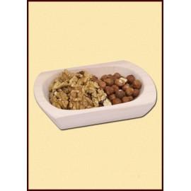 Wooden dish, small, 18 x 13 x 6.5 cm
