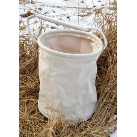 Canvas Folding bucket 8.5 litres