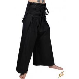Samurai Pants - Black/Gray
