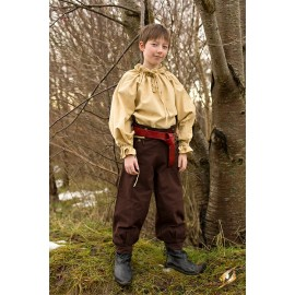Pants Proudfoot - Azure Green - 8-10 yr