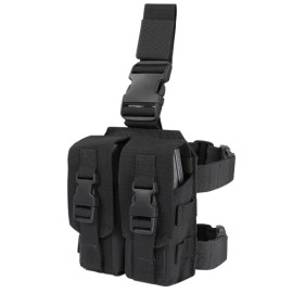 Drop Leg M4 Mag Pouch Black