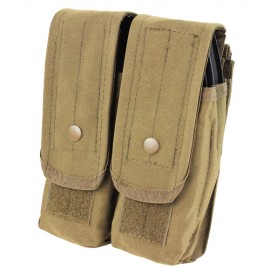 Double AR/AK Mag Pouch Tan