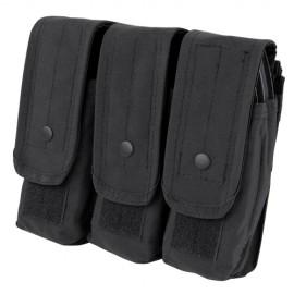 Triple AR/AK Mag Pouch Black