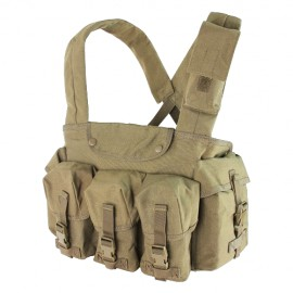 7 Pocket Chest Rig Tan