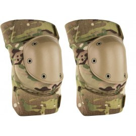 BLACK PULL-OVER STYLE KNEE PADS