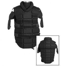 BLACK ANTI RIOT CHEST PROTECTOR