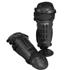 BLACK ANTI RIOT LEG PROTECTION