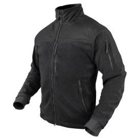 ALPHA Micro Fleece Jacket BK Medium