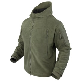 SIERRA Hooded Fleece Jacket OD Small