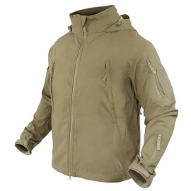 SUMMIT Zero Lightweight Soft Shell Jacket Tan Small