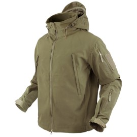 SUMMIT Soft Shell Jacket Tan Small