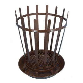 Camp Warmer w. metal tray - Roman