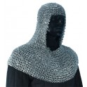 Chainmail Hood - Aluminium - Riveted Small