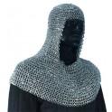 Chainmail Hood - Aluminium - Riveted Medium