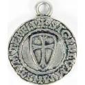 Pendant Templar Signet 'Shield'