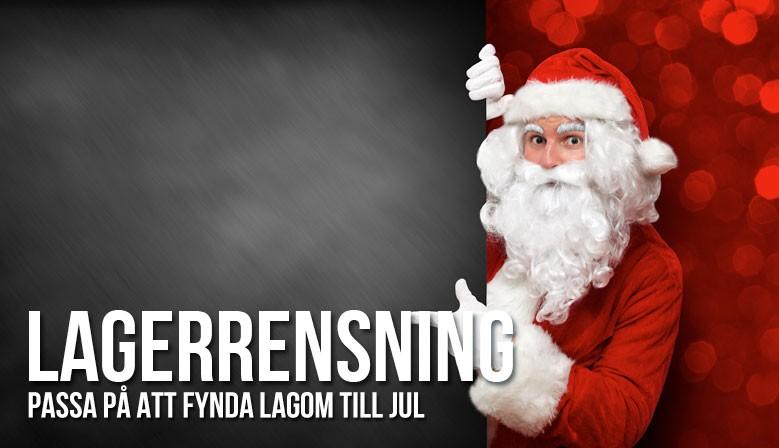 Fynda lagom till jul i vår lagerrensning