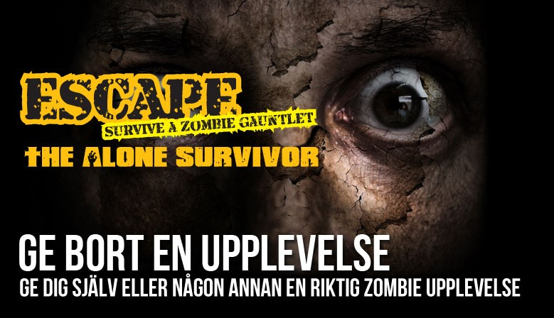 Årets julklapp - en zombieupplevelse